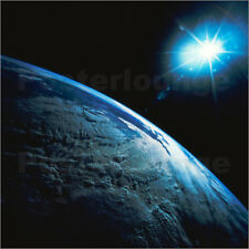 "Poster / Leinwandbild ""Planet Earth and star from space"" - Stocktrek"