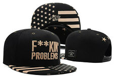 New Popular Adjustable Baseball Cap Snapback Hip-Hop bboy Hats Problems Design