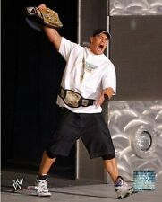 John Cena WWE Championship Belt Photo (Select Size)