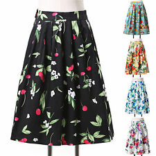 COTTON Rockabilly 50er Jahre Retro Party Rock prom Tellerrock Swing Bust skirt