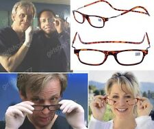 Front Connect Magnetic Adjustable Fold Unisex Anti-fatigue Reading Glasses WS021