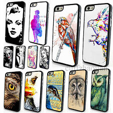 Vintage Sexy Marilyn Monroe Cute Bird Case Cover for Apple iPhone 4 4S 5 5S 5C
