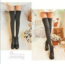 Sexy Womens Lady Girls Opaque Knit Over Knee Thigh High Stockings Socks,fashion