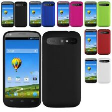 Rubberized Slim Hard Case Snap On Phone Cover For ZTE Warp SYNC N9515 Accessory