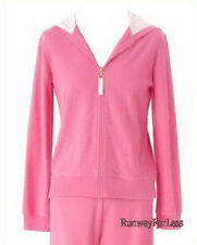 New $58 LILLY PULITZER Womens Size Small Pink Baby Terry Hoodie Jacket