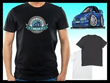 KOOLART BACK IN THE DAY I DROVE A FORD SIERRA SAPHIRE COSWORTH mens/lady t-shirt