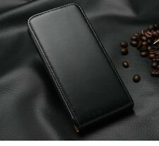 Luxury Genuine Real Leather Magnetic Flip Wallet Case Cover Pouch For HTC ONE M7