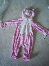 NWT Le Tops Pink Velour  Leopard Girl Halloween Complete Costume 9M or 24M