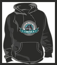 KOOLART BACK IN THE DAY I DROVE Mini Clubman 1275GT Unisex Hooded Top Hoodie Blk
