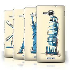 STUFF4 Back Case/Cover/Skin for Sony Xperia SP/C5303/Landmarks