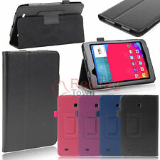 "For LG G Pad 7 7.0"" V400 V410 Tablet Case Flip Folio PU Leather Fit Cover Stand"
