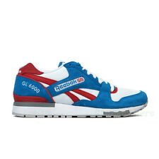 Reebok GL 6000 (Electro Blue/White/Red/Grey) Men's Shoes SZ (7-13) M41414