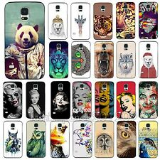 Markdown Hot Beauty Cute Animal Monroe Case Cover for Samsung Galaxy S3 S4 S5