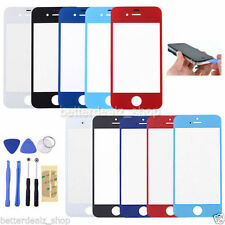 Front Out Glass Touch Screen Lens Replacement For iPhone 4 4S 5 5C 5S 6 + Tools