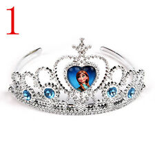 New frozen elsa Disney princess crown act the role ofing is tasted Children gift