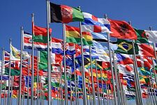 5 x 3FT LARGE WORLD NATIONAL COUNTRY FLAG - FLAGS PREMIUM QUALITY