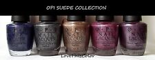 OPI O.P.I Nail Polish Lacquer SUEDE COLLECTION Discontinued & Hard To Find