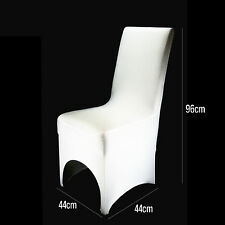 White / Black Lycra Spandex Chair Covers Wedding Party Event Banquet Decoration