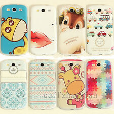 Various Cute Paint Pattern Hard Back Skin Case Cover for Samsung Galaxy S3 S4 S5