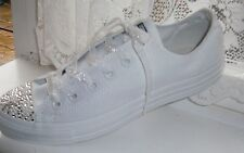 White Glitter Velvet Laces-Shoe,Trainers,boots - Adults, Jnr,Inf- Aglets on Ends