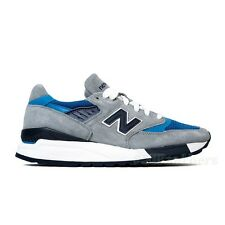 New Balance Made in USA Connoisseur Authors M998MD (Grey/Navy/Blue) Men's Shoes
