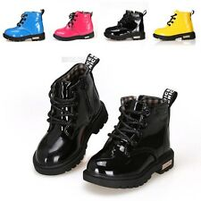 New Cute Baby Girl Boy Martin Boots Shoes Children Kids Water-proof 6-4.5 FX1150