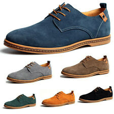 NEW 2014 Suede European style leather Shoes Men's oxfords Casual 10 Size Fashion