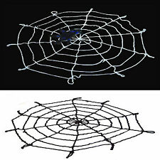 1.5 Meters Big Spider Webs for Halloween Haunted House and Bar Decoration