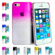 Stylish Slim Raindrop Crystal Hard Case for iPhone 4/s 5/s Screen Protector