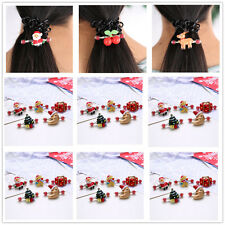 Fashion 11 Styles Baby Girls Christmas Xmas Hair Snap Clip Hairpin Accessories