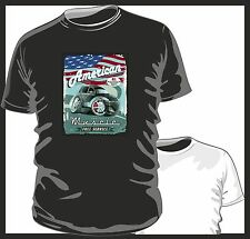 KOOLART AMERICAN MUSCLE CAR Chrysler PT Cruiser mens or ladyfit t shirt tshirt