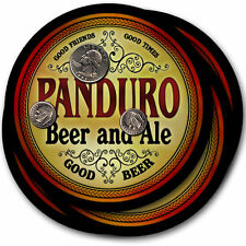Panduro Beer and Ale Coasters - 4pak - Great Gift