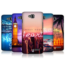 HEAD CASE WORDS TO LIVE BY SERIES 4 SNAP-ON BACK COVER FOR LG L90 DUAL D410