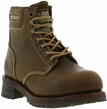 Caterpillar SEQUOIA 6 Inch Mens STEEL TOE Leather Lace Up Work Boot Size UK 8-11