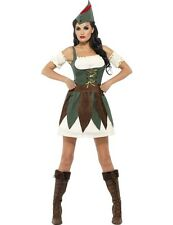 Fever Robin Hood Costume Adult Sexy Fancy Dress Ladies Outfit