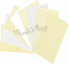 A4 Textured Craft Card Approx 240gsm - Choose Your Colour and Pack size
