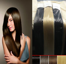 """24""""26""""30"""" 8PCS Full Head Remy Clip In Real Human Hair Extentions 120g ~Cosplay"""