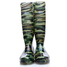 Men boots  non-slip water shoes camouflage WX0016 snow  Rain Boots high-tube new