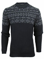 French Connection FCUK Mens Wool FairIsle Jumper