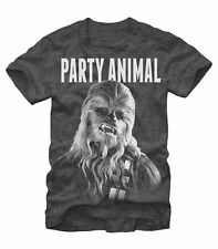 New Star Wars Chewbacca Chewie Licensed Fifth Sun PARTY ANIMAL Shirt