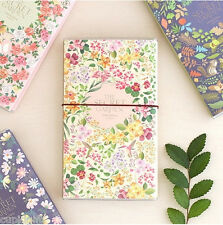 2015 Folding Diary Secret Garden [L] Planner Journal Scheduler Agenda Organizer