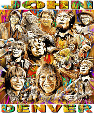 JOHN DENVER TRIBUTE T-SHIRT OR PRINT BY ED SEEMAN