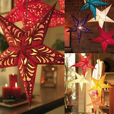 Star Light Paper Lantern Lampshade Pub Wedding Party Hanging Decorations