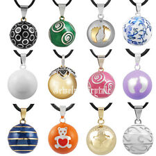 2015 New Style Pregnancy Mommy Chime Pendant Belly Bola Necklace Harmony Ball
