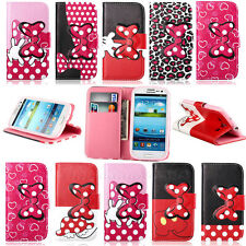 Carey / For Samsung Galaxy SIII S3 i9300 Magnetic Flip Leather Wallet Case Cover