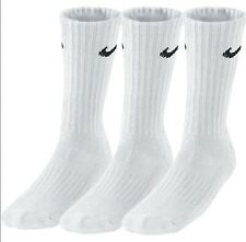 NIKE Socken Value Crew weiss 3er Pack NEU
