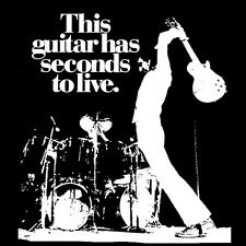 Pete Townshend T Shirt The Who This guitar has seconds to live! Who's next Tommy