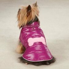 CHOOSE SIZE - SNOW PUFF - DOG VEST WINTER JACKET - RASPBERRY PINK