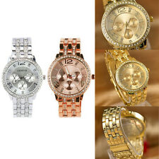 Fashion Exquisite Luxury Crystal Quartz Rhinestone Crystal Wrist Watch Thrifty