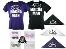 Macho Man Randy Savage Ooh Yeah Costume T-shirt Bandana Glasses